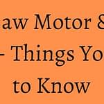 Table Saw Motor & Drive Types – Things You Need to Know